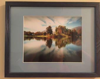 Summer Lake framed photograph
