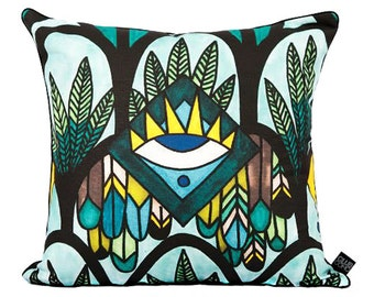 The Santorini Seas Cushion