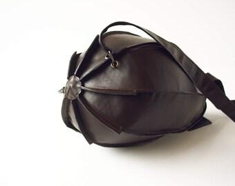Leather Blimp Bag Leather Dirigible Bag