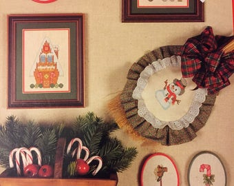 Cross 'N Patch Homespun Christmas  Counted Cross Stitch