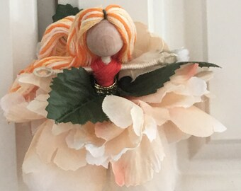 Flower fairy doll
