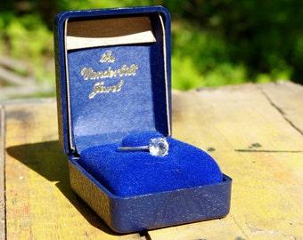 Vanderbilt Jewel Replica Solitaire Ring Size 6