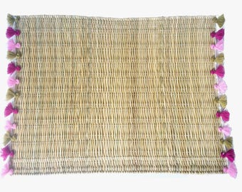 LOLA placemats with tassels - set of 2 OJAI