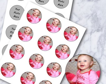 Custom Cupcake Toppers - YOUR PICTURE