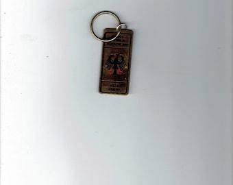 west germany key chain.1980