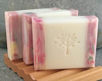 Sandalwood Rose Decorative Handcrafted Bar Soap