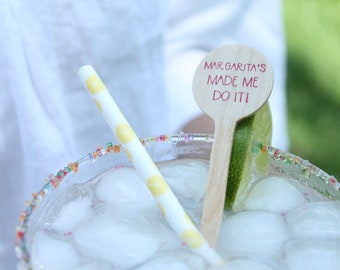 Margarita's Made Me Do it! Drink Stirs