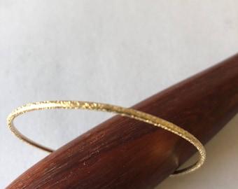 14 Kt Gold Filled Cuff Bracelet
