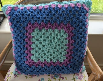 Crochet Cushion hand made
