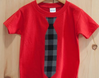 Tie T-shirt for kids