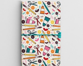 Illustrated Faith Travelers Notebook Fauxdori Cover! Ready to ship!!