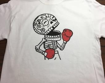 Boxing Skull tee