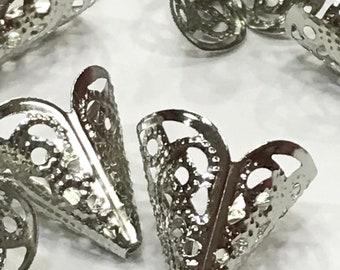 Silver Filigrees-Silver Bead Caps-Filigrees-Bead Caps
