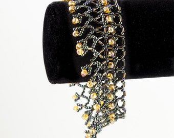 Crystal Netted Bracelet