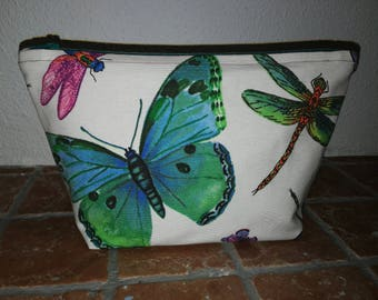 Butterfly and dragonfly bag
