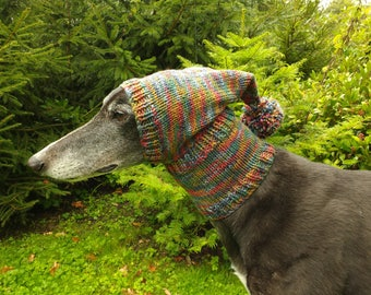 Greyhound & Galgo Pom Pom Hat