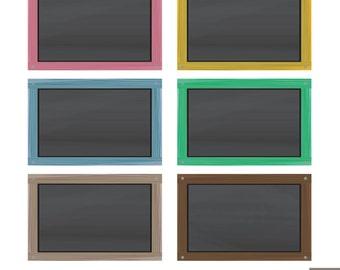 Chalkboard Digital Clipart