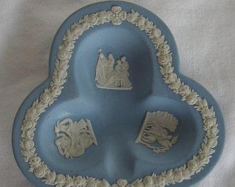 Wedgwood Blue Jasperware Figural Ashtray