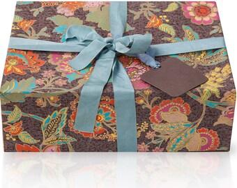 JenSan 6-Piece Aromatherapy Organic Spa Gift  Basket - Handmade - Gift for mom