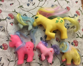 Vintage 80's my little pony fakies
