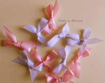 RIBBON BOW. Adorable set of bows for your scrapbooking works.