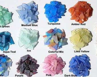 Beach Decor Sea Glass Bulk, Nautical Decor, Bulk Sea Glass, Bulk Beach Glass, Beach Wedding Decor, **2 POUNDS**,  Many Colors
