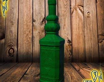 LARP foam bottle green