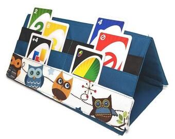 Door card game / playing card holder / card holder / card holder