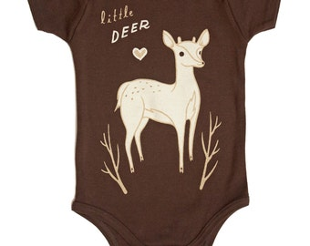 Baby clothes, Deer Baby Clothing shower gift, Deer Baby Clothes - Deer Baby shower gift Little Deer Gender Neutral Baby Clothes deer gifts