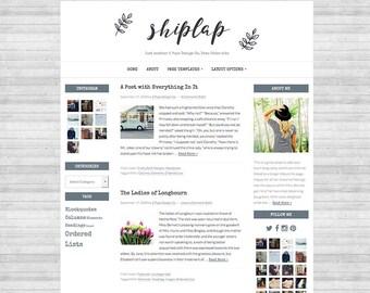 Wordpress Theme, Genesis Child Theme, Blog Design, Blog Template, Website Design