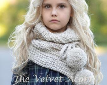 Knitting Pattern - Pinion Shawl (toddler, child, teen, adult sizes)