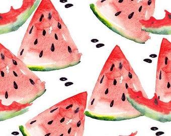 WATERMELON CRIB BEDDING. fruits baby bedding. watermelon crib sheet. watermelon baby blanket. fruits baby blanket. crib sheet,