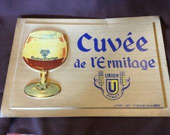 Cuvée de L'Ermitage Beer Advetised Panel