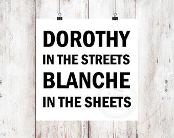 Dorothy In The Streets Vinyl Decal