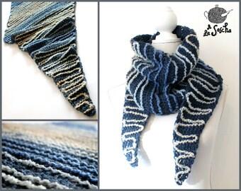 Wiggling Ways Wrap pdf crochet pattern INSTANT DOWNLOAD