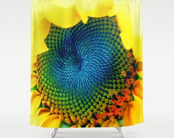Solar Energy . Shower Curtain, modern, home, bathroom, nature, fine art, photography, inspirational, dreamy, flower, happy, bath refreshing
