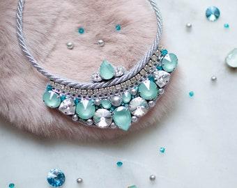 Necklace with crystals Swarovski