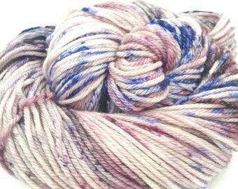 Elderberry Wine Hand Dyed Superwash Merino Worsted Weight Yarn