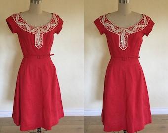 1950s Moygashel Dress