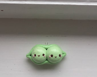 Peas in a pod charm