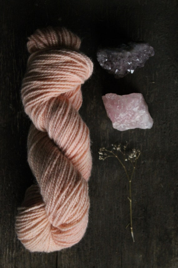 Seafolk Naturally dyed - 2 ply  100% non super wash wool - Worsted weight - 200 yards - 100 grams