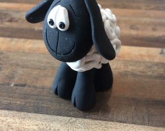 Polymer Clay Sheep