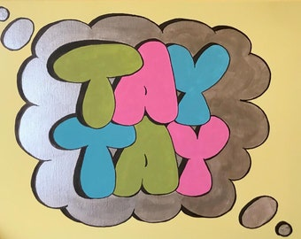Graffiti Name CUSTOM Canvas Wall Art