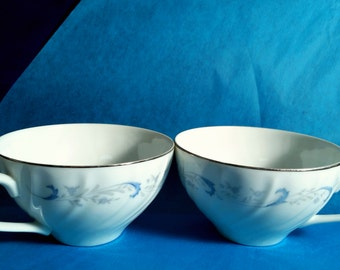 Pair of Teacup Soy Candles- YOU CHOOSE candle fragrance/color, custom
