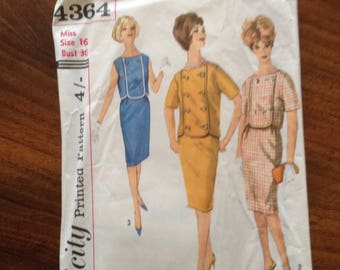 60's simplicity pattern. Used but complete