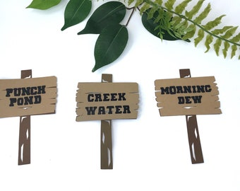 Woodland Labels