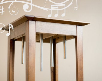 custom chime table in D-E-F#-A