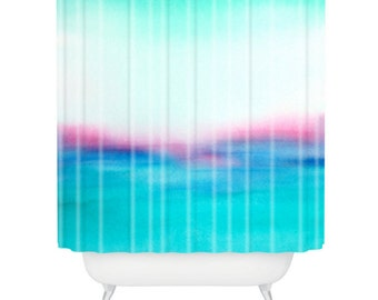 In Your Dreams Watercolor Shower Curtain