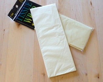 Ivory Tissue Paper - 10 Sheets - Gift Wrap - Craft and Party Supplies
