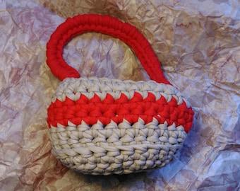 Basket. Multi-purpose basket. Organizer for the house. Transport. Decoration. Handmade